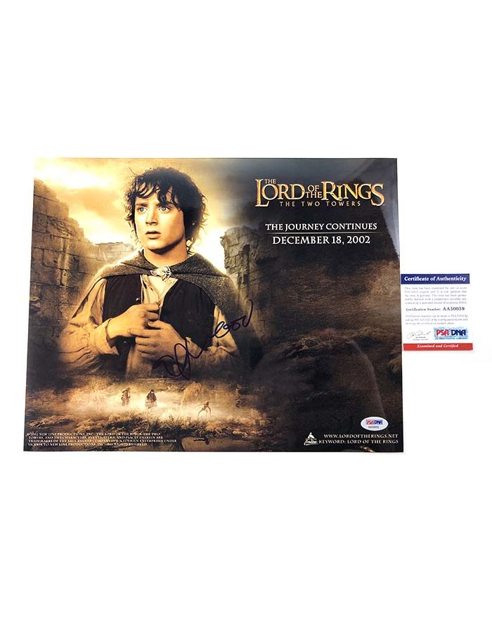 """Elijah Wood signed 11""""x14"""" Photo Lord of the Rings"""