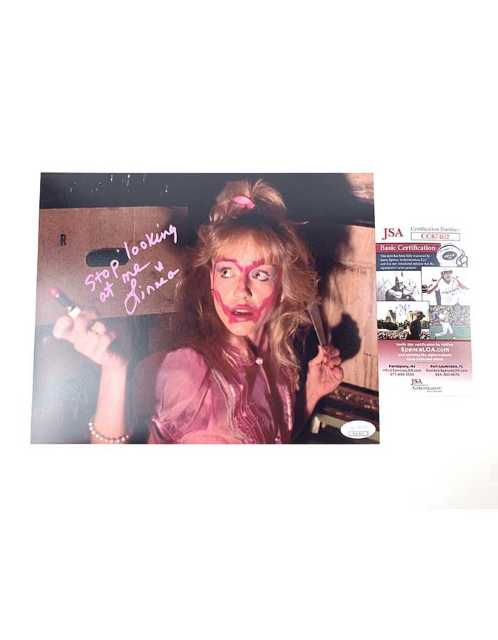 Linnea Quigley Signed 8x10 Photo Night of the Demons