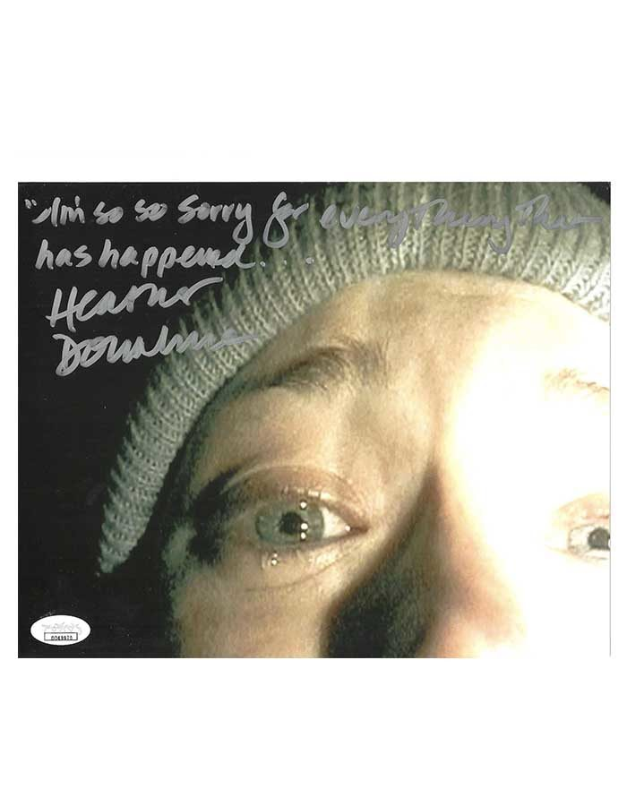 Heather Donahue Signed 8x10 Photo The Blair Witch Project