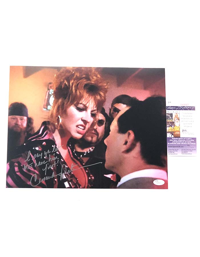 "Cassandra Peterson signed 11""x14"" Photo Pee-wee's Big Adventure"